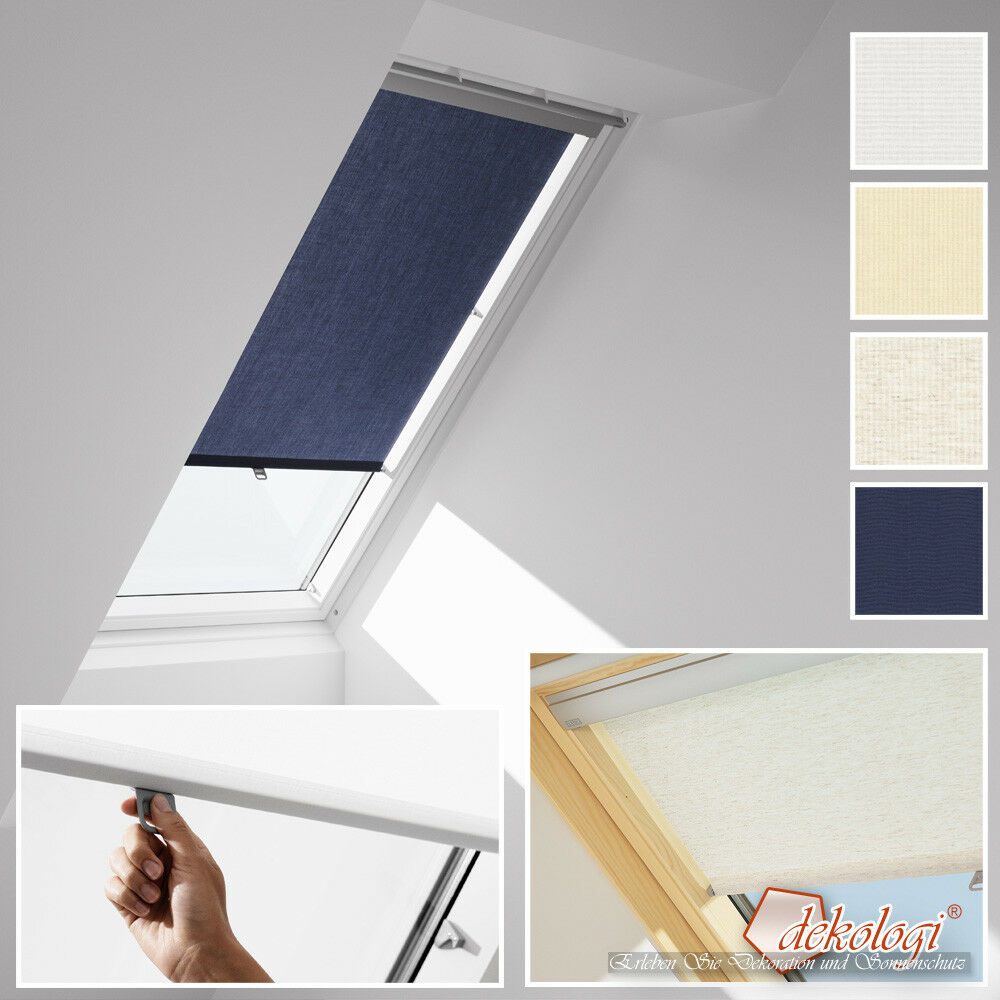 Velux Dachfensterrollo mit Haltekrallen Sichtschutz Kunststoff RHU GGU, GPU, GTU | Outlet Store