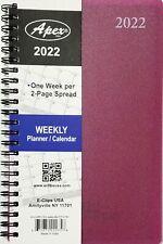2022 Weeklymonthly Planner Calendar Agenda Organizer 5 X 8 Select Color