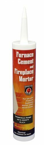 MEECO/'S RED DEVIL 120 Furnace Cement and Fireplace Mortar