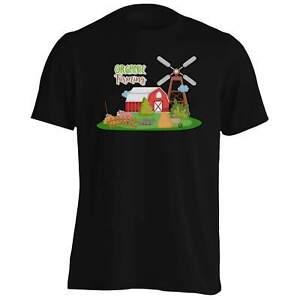 Organic-Farm-Windmill-Tee-Shirt-Homme-Tank-Top-hh595m