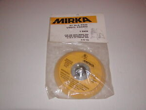 Mirka 105SG Soft Grip Faced Backup Pad 5-Inch 5//16 by 24