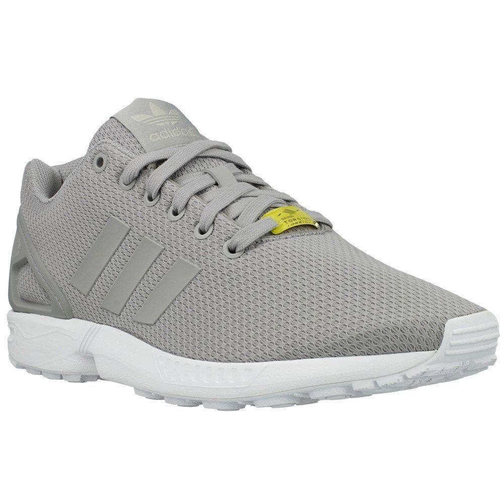 Adidas Originals Zx Flux Light Granite Grey Casual Running shoes Sz 8.5 M19838