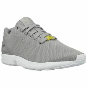 70f2bb5f4105a adidas Originals Zx Flux Light Granite Grey Casual Running Shoes Sz ...