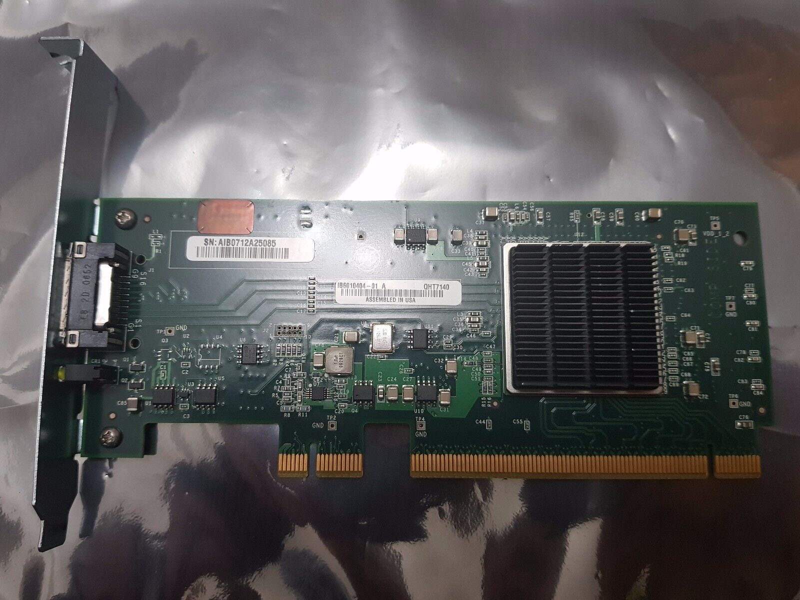 QLogic InfiniPath QHT7140 IB6010404 InfiniBand SDR 4x 10Gb HTX