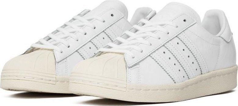 Adidas Originals Womens Superstar White 80s W Trainers White Superstar (BB2056) 12aa95