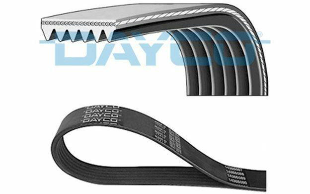 DAYCO Courroie d'alternateur-accessoires 6 nervures 1605mm 6PK1606 - Mister Auto