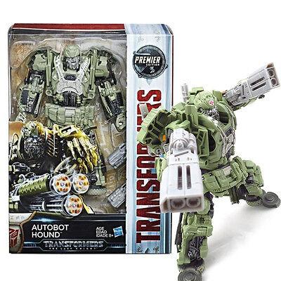 100% Hasbro Transformers MV5 The Last Knight Premier Ed Voyager Hound (G)