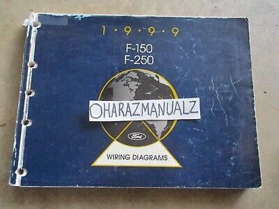 1999 Ford F-150 F-250 Wiring Diagrams Manual OEM | eBay