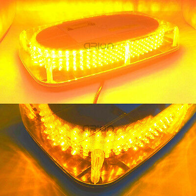 240 LED Light Bar Roof Top Emergency Hazard Warning Flash Strobe Yellow Amber