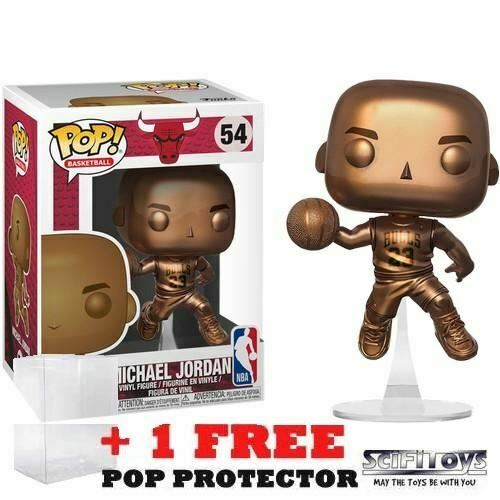 Michael Jordan Bronze 54 Funko Pop Vinyl Exclusive NBA Chicago Bulls Basketball