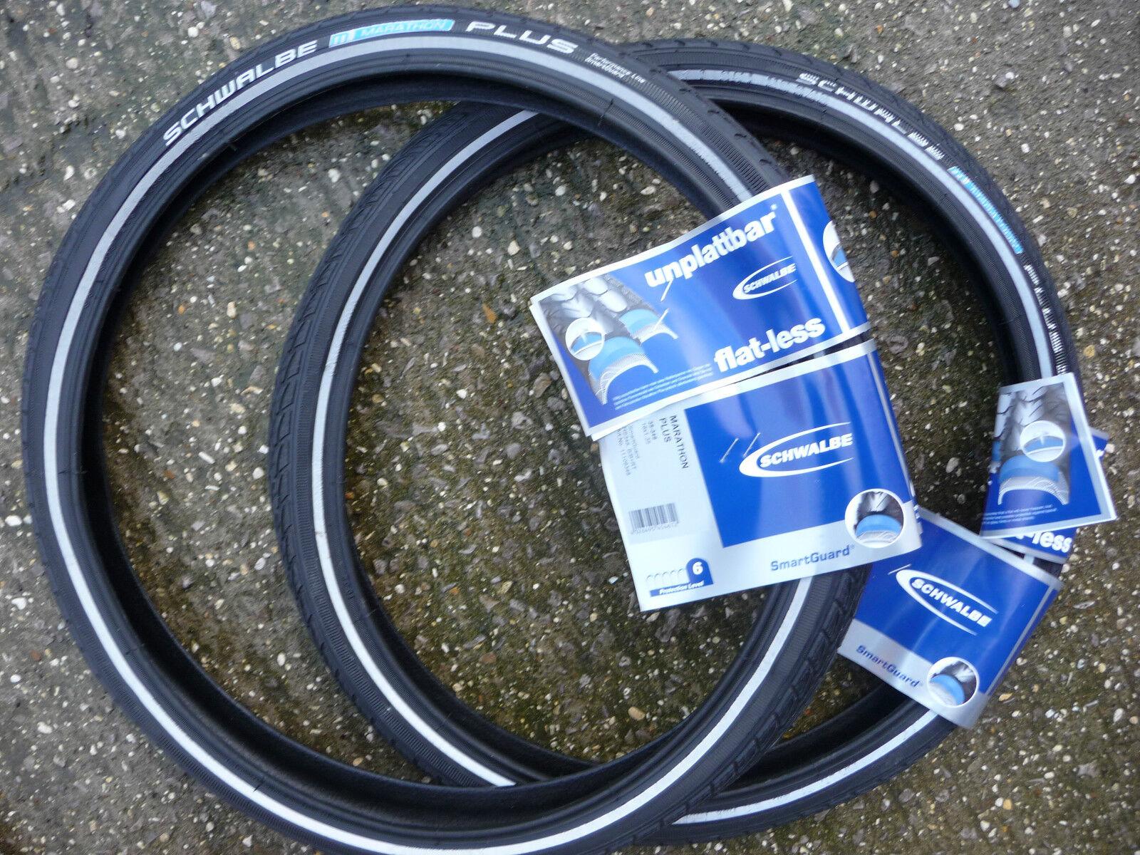 Pair Schwalbe Marathon PLUS 16x1 3  8 (16x1.35) (35-349) Brompton Bike Tyres  cheap and high quality