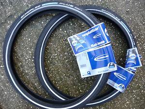 Pair-Schwalbe-Marathon-PLUS-16x1-3-8-16x1-35-35-349-Brompton-Bike-Tyres