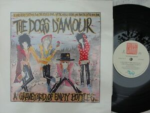 Dogs-D-Amour-ORIG-UK-LP-Graveyard-of-empty-bottles-NM-89-China-Glam-Rock