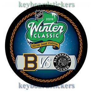 2019-NHL-Winter-Classic-Dueling-Hockey-Puck-BOSTON-BRUINS-VS-CHICAGO-BLACKHAWKS