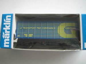 Marklin H0 4481-91739 DB GEFCO Box Wagon - Limited Edition in 1991!!!