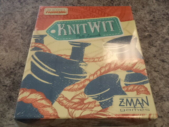 Knit Wit - Z-Man Games Board Game New  Knitwit