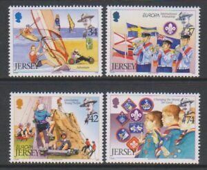Jersey-2007-Timbre-Centenaire-De-Scoutisme-Ensemble-MNH-Sg-1300-3