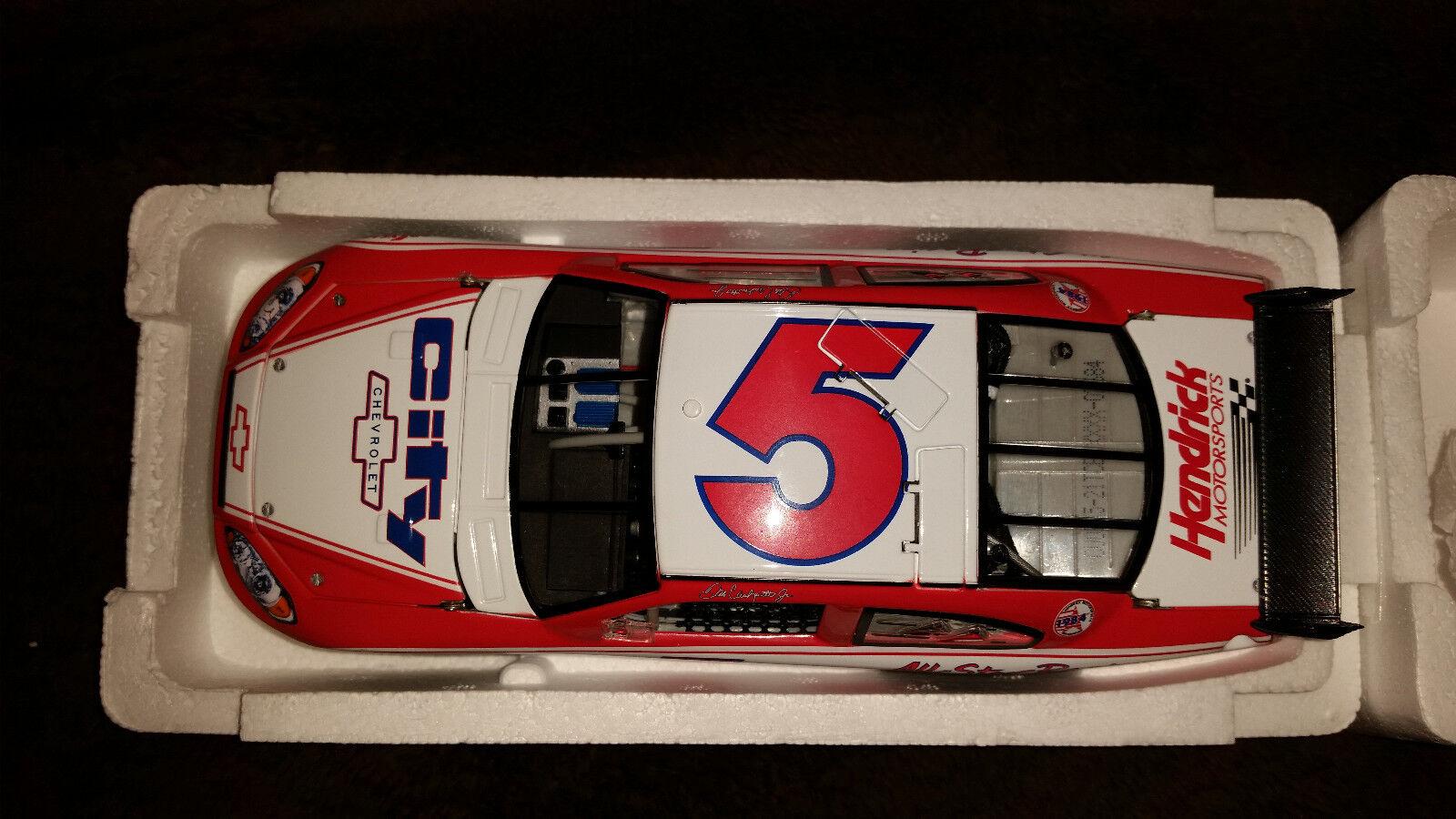 Dale Jr All Star prueba coche 2008 Impala SS coleccionable edición limitada DIE-CAST