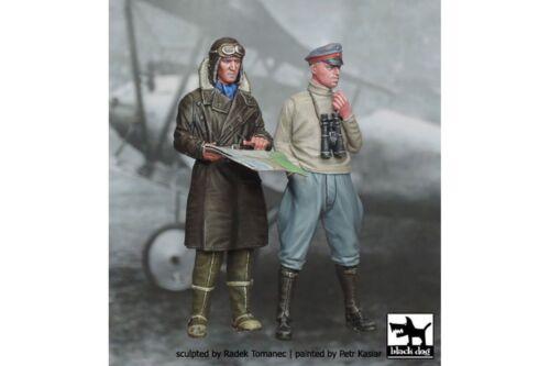 Black Dog F32003 1//32 German Fighter Pilots1914-1918 set