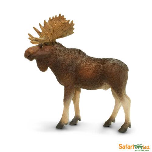 Orignal taureau 11 cm série animaux sauvages safari Ltd 181029