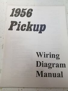 1956 chevy pickup wiring diagram nuevo 1956 chevy cami  n manual de diagrama de cableado   env  o  nuevo 1956 chevy cami  n manual de