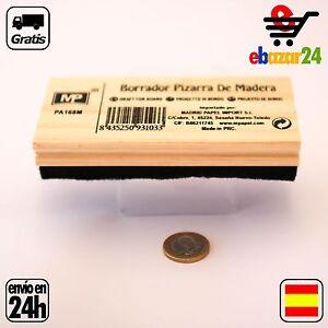 BORRADOR GRANDE DE PIZARRA TIZA MADERA  *Envío GRATIS desde España*