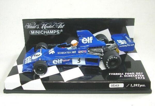 Tyrrell Ford 007 N° 3 Jody Jody Jody Scheckter Formule 1 1975 1:43 | L'apparence élégante  288786