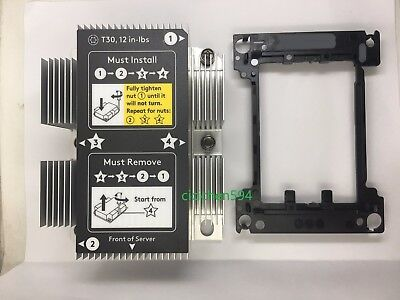 New HP DL380 DL380p G10 CPU Heatsink with Kit 839274-001 873591-001 875070-001