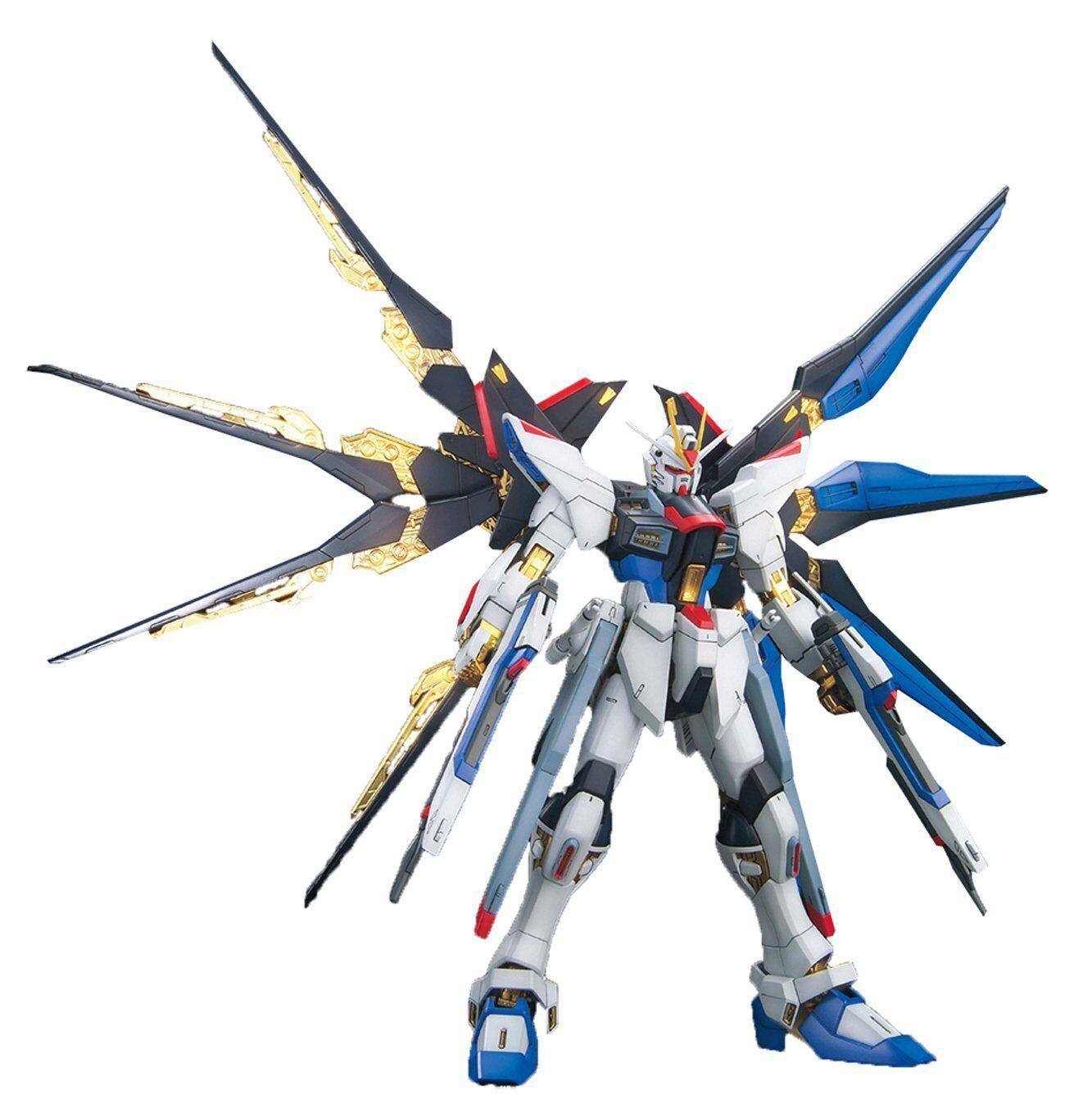 Gundam Seed ZGMF -X20A Strike fridom Gundam Full Burst Mode 1  100 MG modellllerlerl Kit