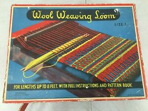 Rare-vintage-Wool-waving-woom-size-3-made-in-England-trade-Mark-Spear-039-s-game