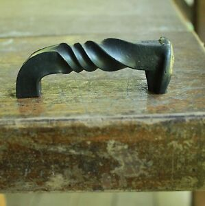 Image Is Loading Railroad Spike Cabinet Hardware Twisted Cabinet  Pull Handle