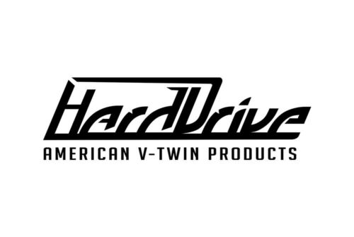 HardDrive Rubber Band O-Ring Style Grips 1973-Up Harley Davidson Chrome