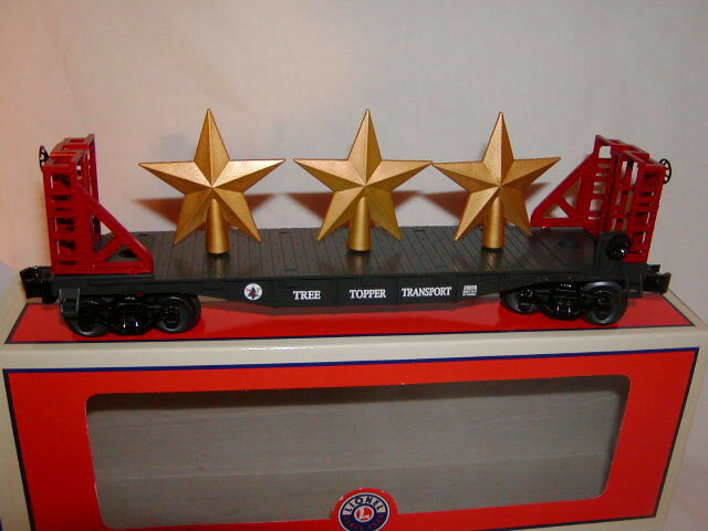 Lionel 629698 Christmas Tree Topper Transport auto 2013 O27 MIB Holiday Flatauto