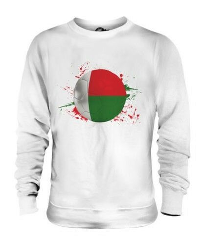 MADAGASCAR FOOTBALL UNISEX SWEATER TOP GIFT WORLD CUP SPORT