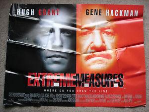 EXTREME-MEASURES-Original-film-poster-Gene-Hackman-1990-039-s-UK-quad