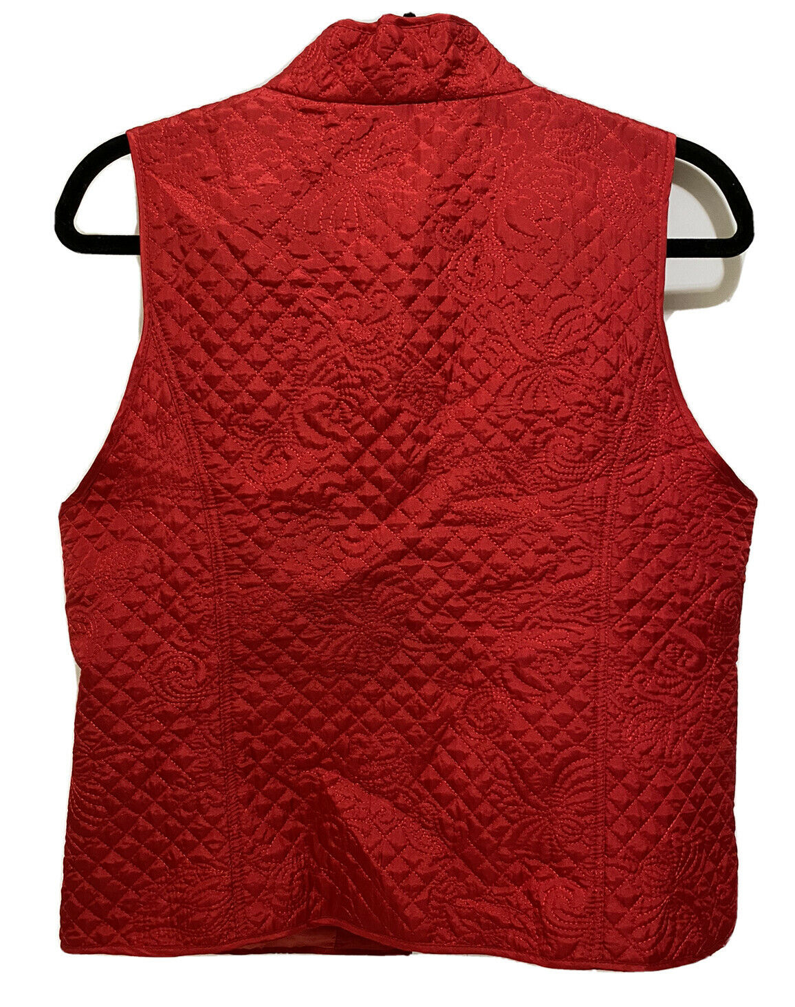 Christopher & Banks Womens Quilted Embroidered Pa… - image 6