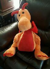 "Large Big jumbo Dragon Plush Stuffed 26"" ""Animal Adventure""  Orange {005"
