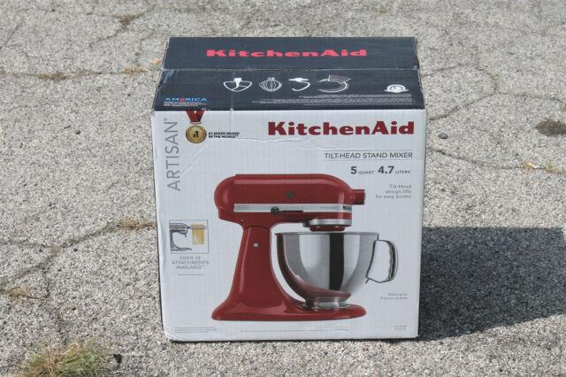 KITCHENAID ARTISAN 5-Qt. TILT-HEAD STAND MIXER - EMPIRE RED - KSM150PSER