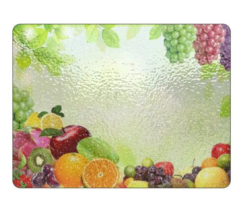 Fruit en verre à découper planche tout texte image logo