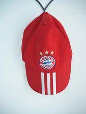 2c5630b66b5 Adidas Official FC Bayern München Munich Football Red Stripe Cap One Size