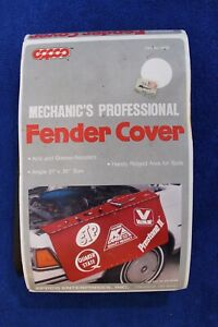 Vintage-NOS-Eppco-K-Care-Mechanics-Fender-Cover-Accessory-Hot-Rod-STP-Valvoline