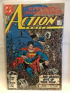 Action-Comics-585-VF-1st-Print-DC-Comics