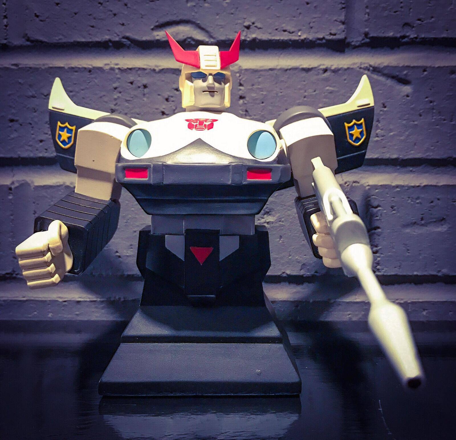 Hasbro 2002 G1 Transformers Prowl Cold Cast Porcelain Bust Hard Hero 0912/5000