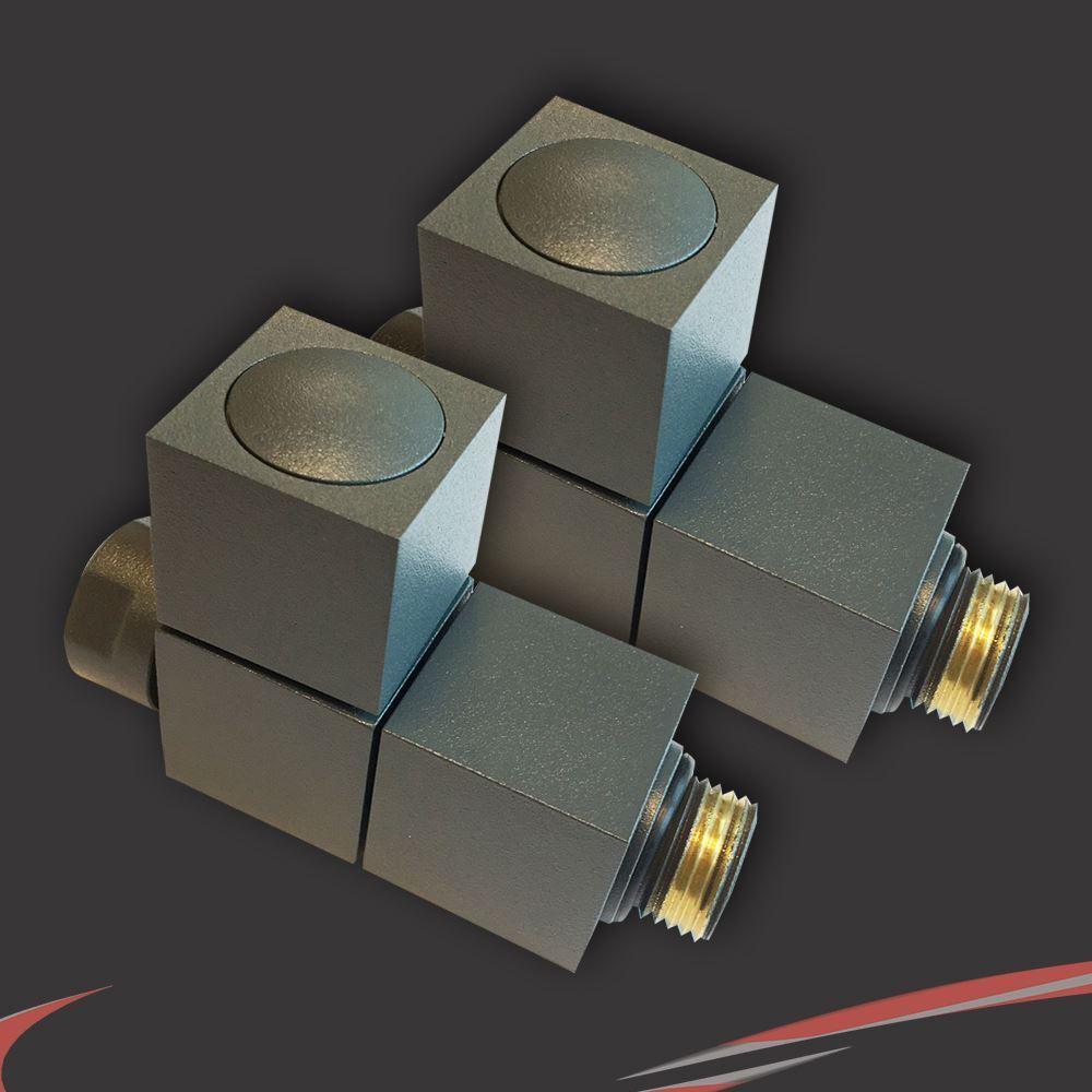 Square Square Square Profile  Atlas  Designer Heated Towel Rails (Chrome OR Anthracite) 3Größes dd630e