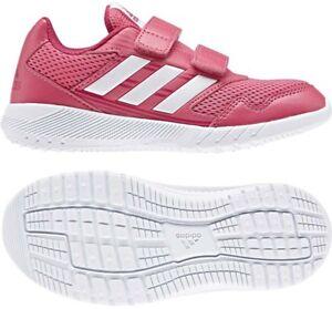 Details zu adidas Kinder Sportschuh ALTA RUN CF Klett, non marking rosé Gr. 30 34 NEU!