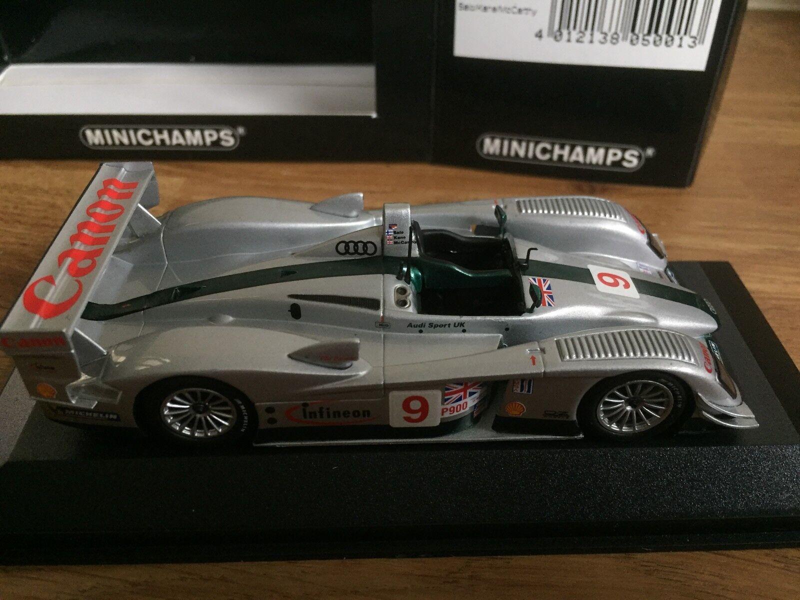 MINICHAMPS Sebring 2003 - Audi R8 - - - 1 43 Modèle À L'échelle - 430 031399 96527b