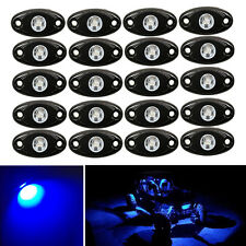 20x Blue CREE LED Rock Offroad Light 9W Underglow For Jeep Truck Boat Rig Trail
