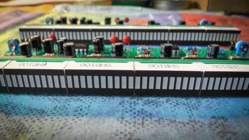 DIY KIT NOT ASSEMBLED 120 LED stereo VU METER SGVU-L MIXED COLORS