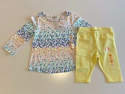 NWT Gymboree Yellow Capri Leggings Toddler Girls Outlet