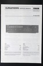 GRUNDIG Receiver R 4200 MKII Original Service-Manual/Anleitung/Schaltplan